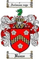Thumbnail Reave Family Crest  Reave Coat of Arms