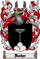 Thumbnail Recher Family Crest  Recher Coat of Arms Digital Download