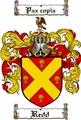 Thumbnail Redd Family Crest  Redd Coat of Arms