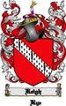 Thumbnail Reigh Family Crest  Reigh Coat of Arms Digital Download