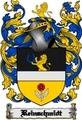 Thumbnail Reinschmidt Family Crest  Reinschmidt Coat of Arms Digital Download