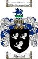 Thumbnail Rendel Family Crest  Rendel Coat of Arms