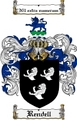 Thumbnail Rendell Family Crest  Rendell Coat of Arms