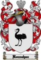 Thumbnail Rennehan Family Crest  Rennehan Coat of Arms Digital Download