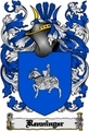 Thumbnail Renninger Family Crest  Renninger Coat of Arms Digital Download