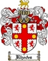 Thumbnail Rhodes Family Crest / Rhodes Coat of Arms
