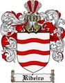Thumbnail Ribeiro Family Crest  Ribeiro Coat of Arms