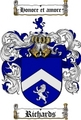 Thumbnail Richards Family Crest / Richards Coat of Arms