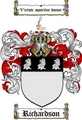 Thumbnail Richardson Family Crest / Richardson Coat of Arms