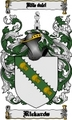 Thumbnail Rickards Family Crest  Rickards Coat of Arms Digital Download