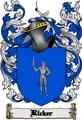 Thumbnail Ricker Family Crest  Ricker Coat of Arms Digital Download