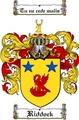 Thumbnail Riddock Family Crest  Riddock Coat of Arms