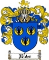 Thumbnail Rider Family Crest  Rider Coat of Arms
