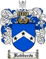 Thumbnail Robberds Family Crest  Robberds Coat of Arms