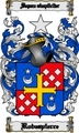 Thumbnail Robespierre Family Crest  Robespierre Coat of Arms Digital Download