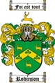 Thumbnail Robinson Family Crest / Robinson Coat of Arms