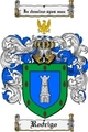 Thumbnail Rodrigo Family Crest  Rodrigo Coat of Arms