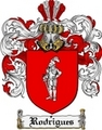 Thumbnail Rodrigues Family Crest  Rodrigues Coat of Arms