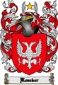 Thumbnail Roecker Family Crest  Roecker Coat of Arms Digital Download