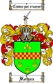 Thumbnail Rohan Family Crest  Rohan Coat of Arms