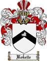 Thumbnail Rokelle Family Crest  Rokelle Coat of Arms