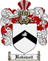 Thumbnail Rokewell Family Crest  Rokewell Coat of Arms