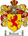 Thumbnail Rollands Family Crest  Rollands Coat of Arms