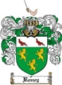 Thumbnail Roney Family Crest  Roney Coat of Arms