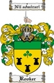 Thumbnail Rooker Family Crest  Rooker Coat of Arms