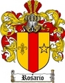 Thumbnail Rosario Family Crest  Rosario Coat of Arms