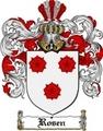 Thumbnail Rosen Family Crest  Rosen Coat of Arms