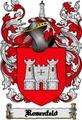 Thumbnail Rosenfeld Family Crest  Rosenfeld Coat of Arms Digital Download