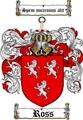 Thumbnail Ross Family Crest / Ross Coat of Arms