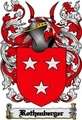 Thumbnail Rothenberger Family Crest  Rothenberger Coat of Arms Digital Download