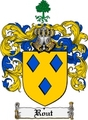 Thumbnail Rout Family Crest  Rout Coat of Arms