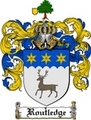 Thumbnail Routledge Family Crest  Routledge Coat of Arms