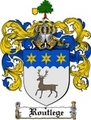 Thumbnail Routlege Family Crest  Routlege Coat of Arms