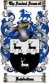 Thumbnail Rowbottom Family Crest  Rowbottom Coat of Arms Digital Download
