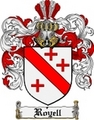 Thumbnail Royell Family Crest  Royell Coat of Arms