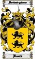 Thumbnail Ruark Family Crest  Ruark Coat of Arms Digital Download