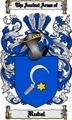 Thumbnail Rubel Family Crest  Rubel Coat of Arms Digital Download