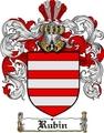 Thumbnail Rubin Family Crest  Rubin Coat of Arms