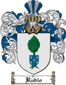 Thumbnail Rubio Family Crest  Rubio Coat of Arms Digital Download