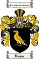 Thumbnail Ruper Family Crest  Ruper Coat of Arms