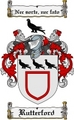 Thumbnail Rutterford Family Crest  Rutterford Coat of Arms