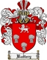 Thumbnail Ruttery Family Crest  Ruttery Coat of Arms