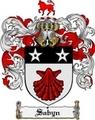 Thumbnail Sabyn Family Crest  Sabyn Coat of Arms