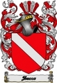 Thumbnail Sacco Family Crest  Sacco Coat of Arms Digital Download