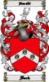 Thumbnail Sack Family Crest  Sack Coat of Arms Digital Download