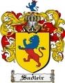Thumbnail Sadleir Family Crest  Sadleir Coat of Arms